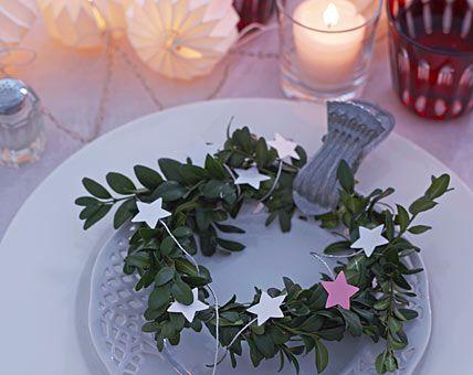 Tischdeko weihnachten basteln selber machen  57 besten Tischdeko für Weihnachten Bilder auf Pinterest ...