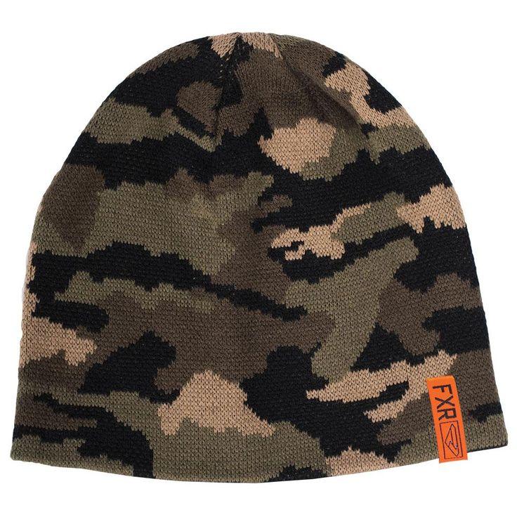 FXR Platoon Camouflage Beanie