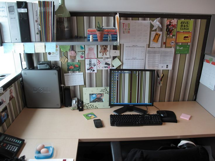 Cubicle office decorating ideas google search cube it pinterest cubicle cubicle walls - Decorate cubicle walls ...