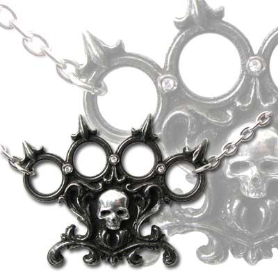 """ALCHEMY GOTHIC """"Lisbeth's Kiss"""" necklace (SOLD)"""