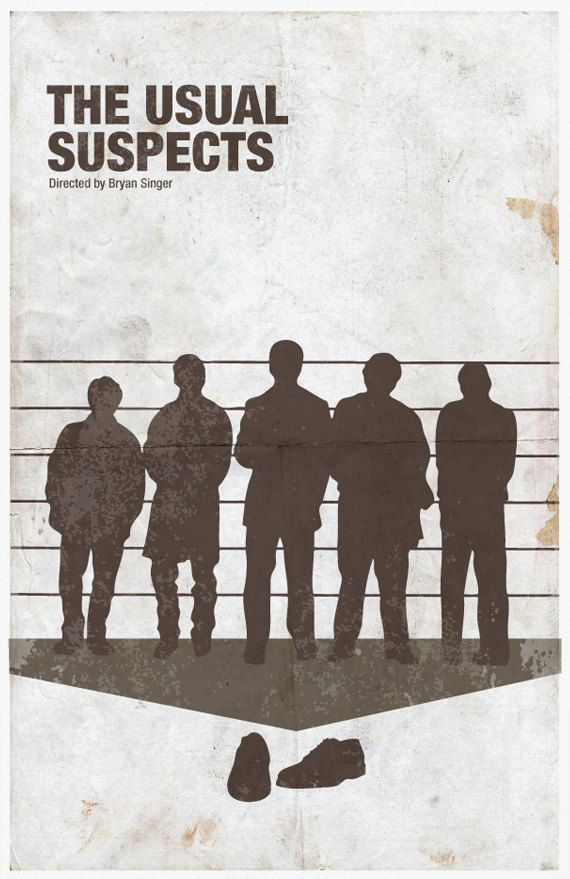 essay on the usual suspects In 1995, brian singer and christopher mcquarrie dreamed up a simple concept: the audience isn't stupid from that, they went on and created the most plot-driven.