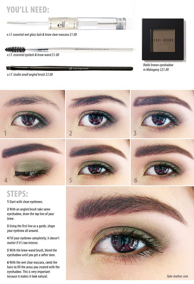 thick eyebrows tutorial/ beauty