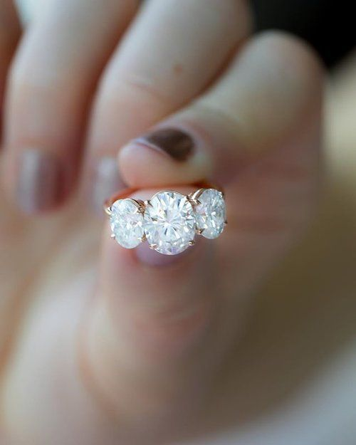 """Diamonds are valuable because of their optical properties - aka """"sparkle"""". Diamond reflects light in a way truly unique and mesmerizing. If we simply wanted large, white stones, we'd buy the MUCH cheaper white Sapphire as an engagement ring substitute. With this in mind, Good Stone chooses to only focus on perfectly cut diamonds in the top 1%-2% in sparkle production. Otherwise, what's the point in having a diamond that does radiate light? Get a Good Stone engagement ring :)"""