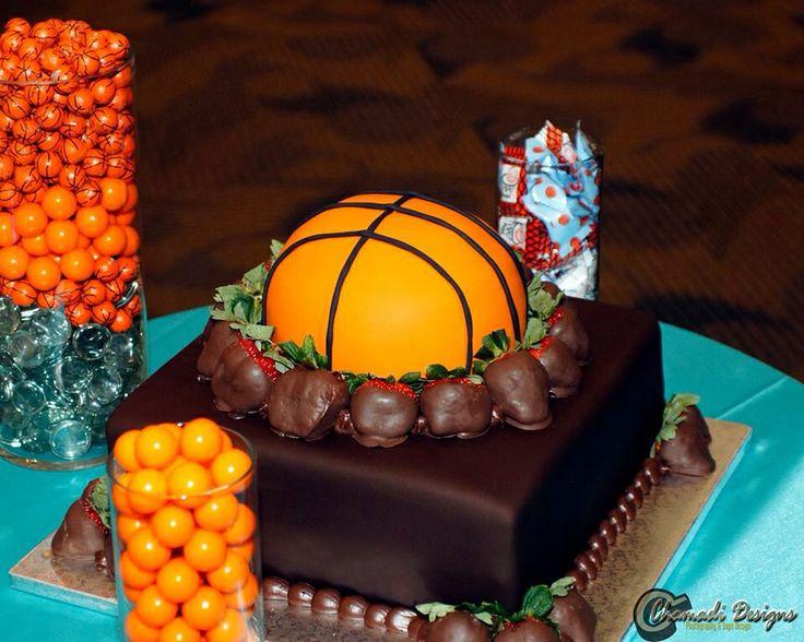 Basketball Wedding Cake