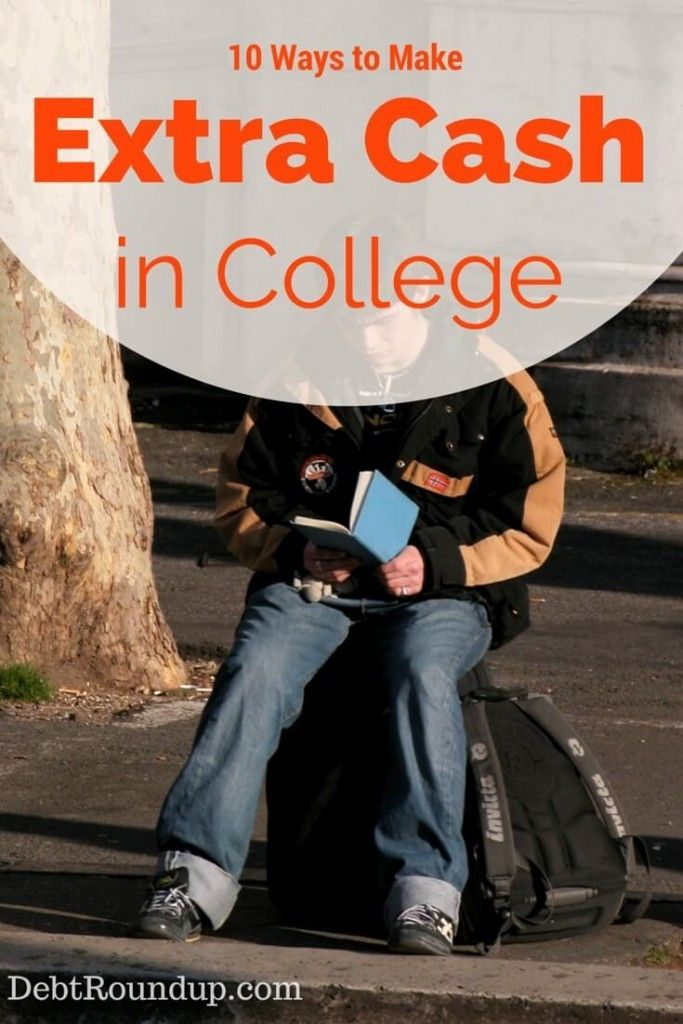 Need cash while in #college? Here are 10 ways you can  make extra money while in school!