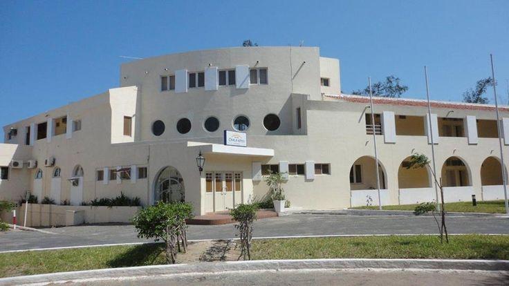 Edifício da Pousada na Ilha de Moçambique.