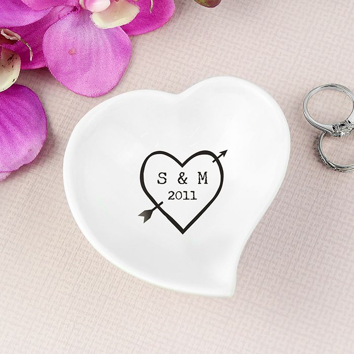 Personalised Wood Carving Heart Ceramic Ring Dish You Can Personalise This Lovely With 2 Lines Of Your Own Message An Ideal Way To Present The Rings