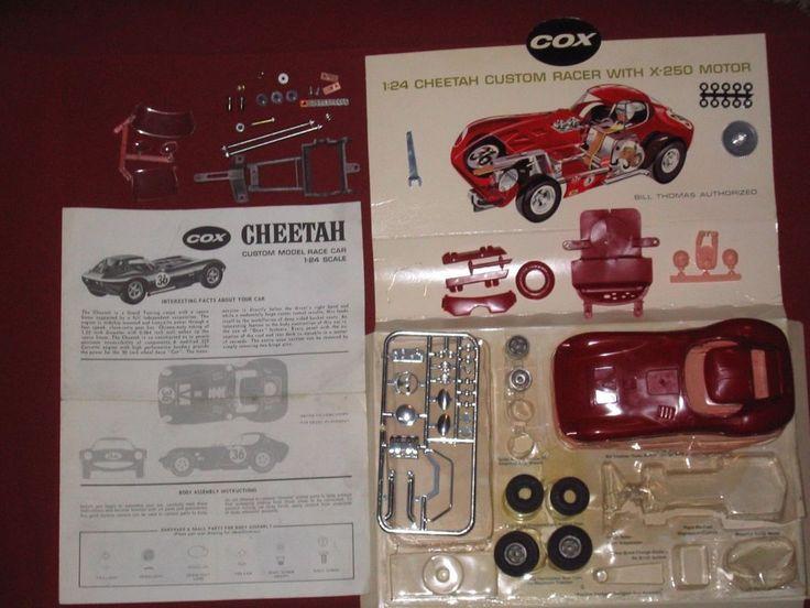 Cox slot car parts