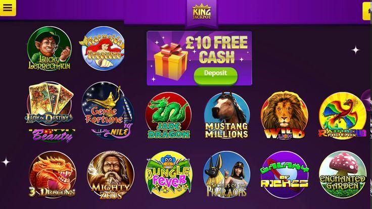 King Jackpot Bingo UK   £20 Free No Deposit Bingo site   Free Casino Sites