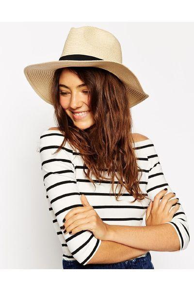 Asos Straw Fedora Hat - The Fashion