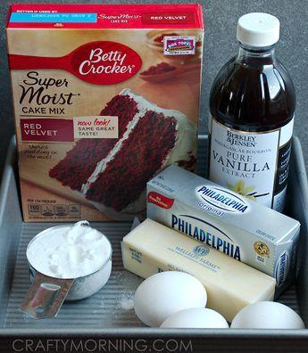 Red Velvet Cheesecake Brownie Recipe - Crafty Morning