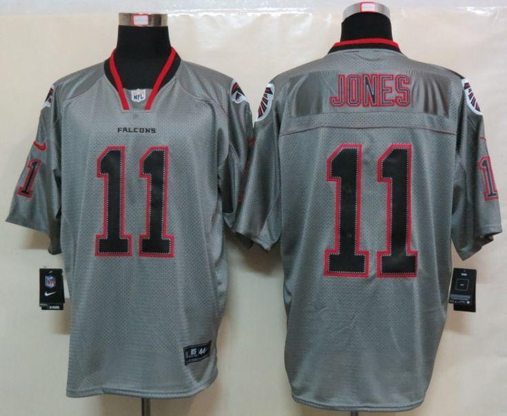 Grey Jones Nike NFL Lights Out Atlanta Falcons #11 Jersey ID:696214088  Price :