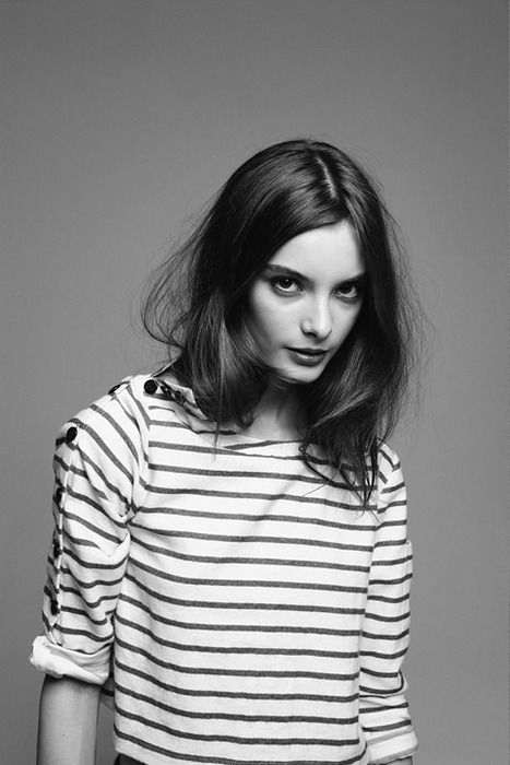 Clementine Stevens. Last Magazine Fall  2010. Top by Opening Ceremony.
