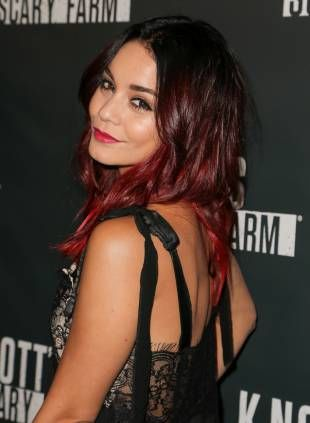 vanessa hudgens le blond ombr ou le tie and dye rouge - Tie And Dye Sur Cheveux Colors