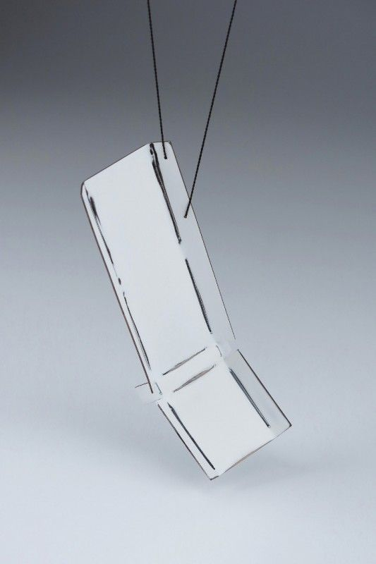 Jim Bove  -  - Fold1 necklace - Society of North American Goldsmiths