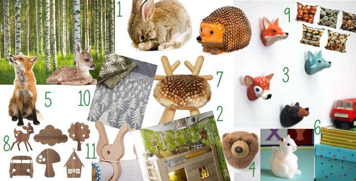 Zo maak je een kinderkamer met bos thema - Hip & Hot - blogazine