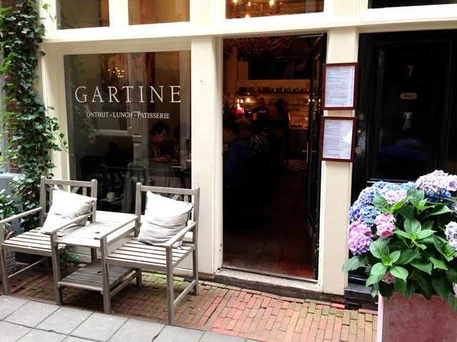 Gartine - high tea - Taksteeg 7  Amsterdam