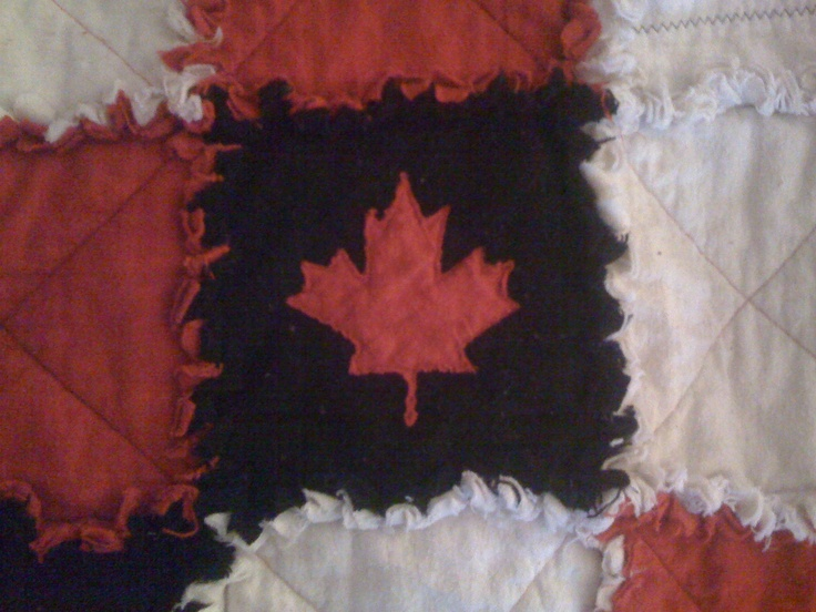 Up Close Team Canada Quilt