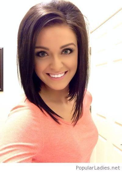Wonderful A line haircut