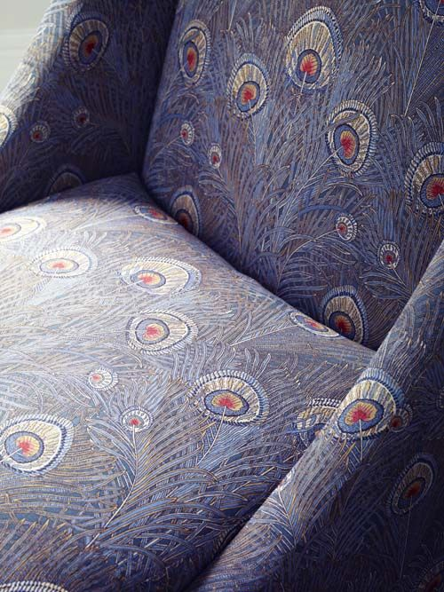 the heritage collection - liberty art fabrics interiors_hera slate blue