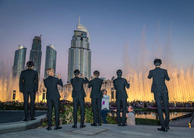EXO Dubai Fountain