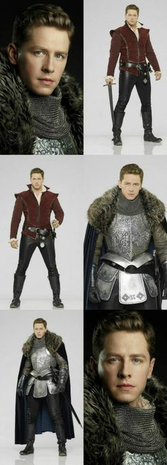 """He can be my Prince charming anyday! ABC's """"Once Upon a Time"""" stars Josh Dallas as Prince Charming/David"""