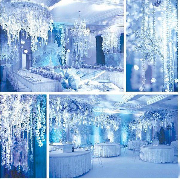 волшебный зимний декор