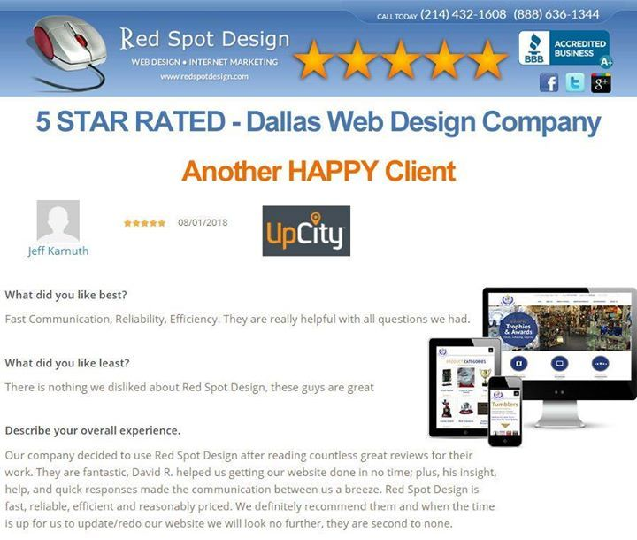 Another 5 Star Web Design Review With Images Web Design Business Web Design Web Design Company