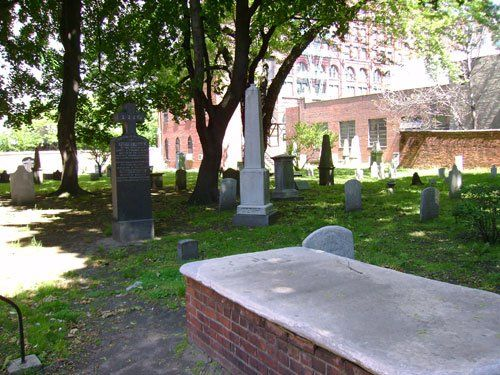 St. Patrick's Old Cathedral Churchyard, New York, New York