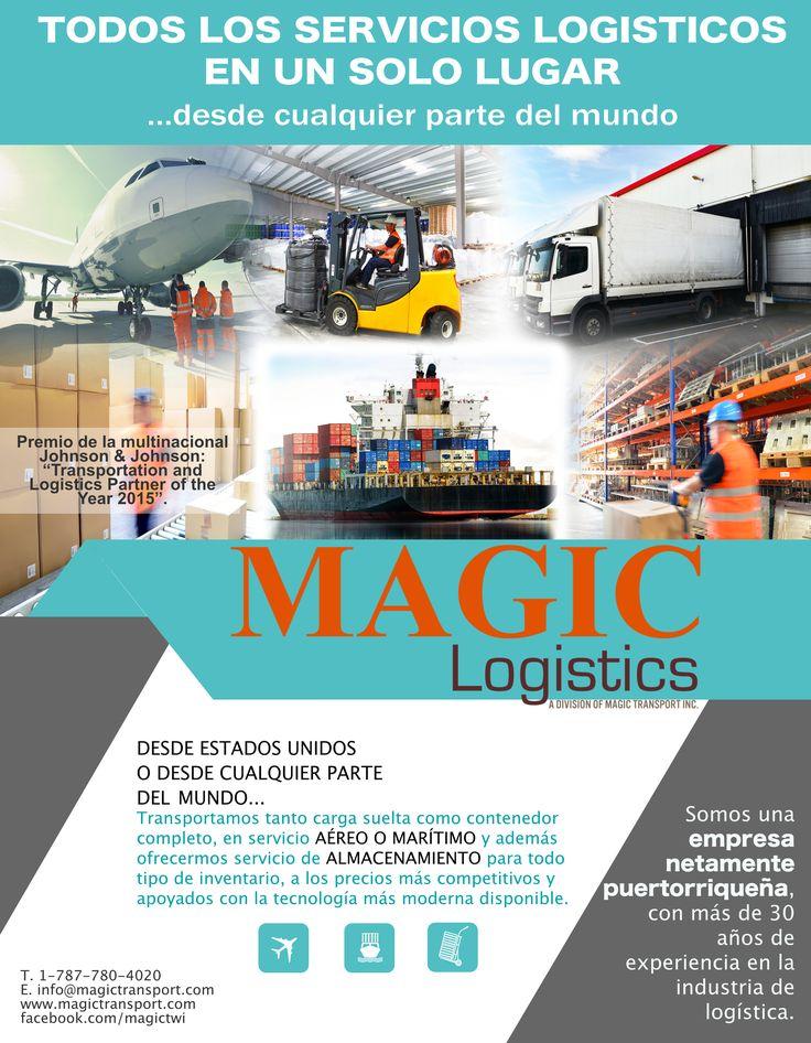 carga marítima Magic Logistic is a leading maritime, air