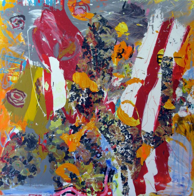 "Saatchi Art Artist: robert tavani; Acrylic 2012 Painting ""Bouquette"""