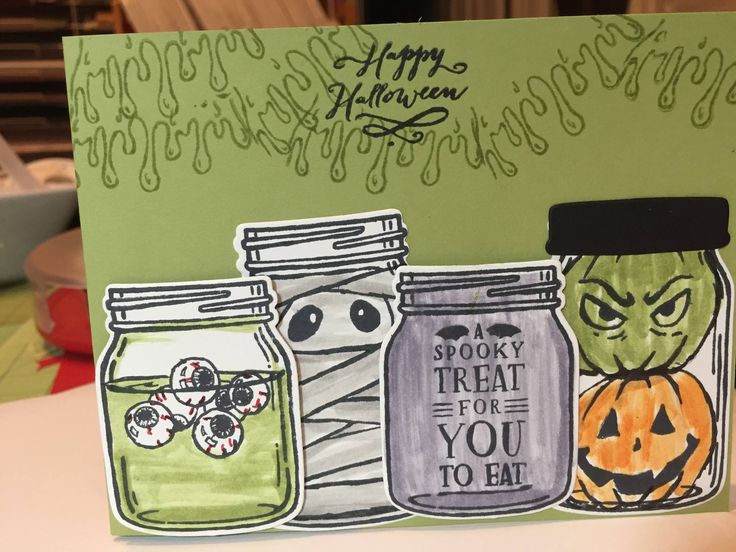 Stampin' Up! Jar of Haunts, Holiday 2016