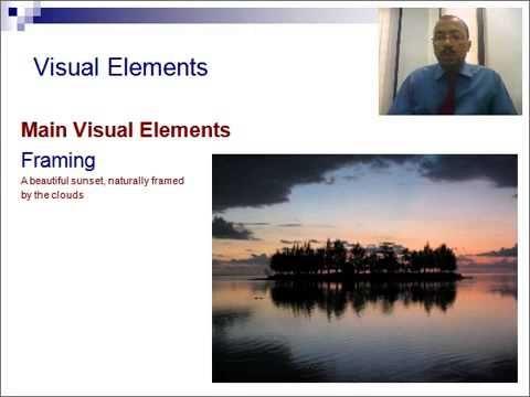 ▶ PresentationTube | Visual Literacy - YouTube Good images to illustrate framing etc