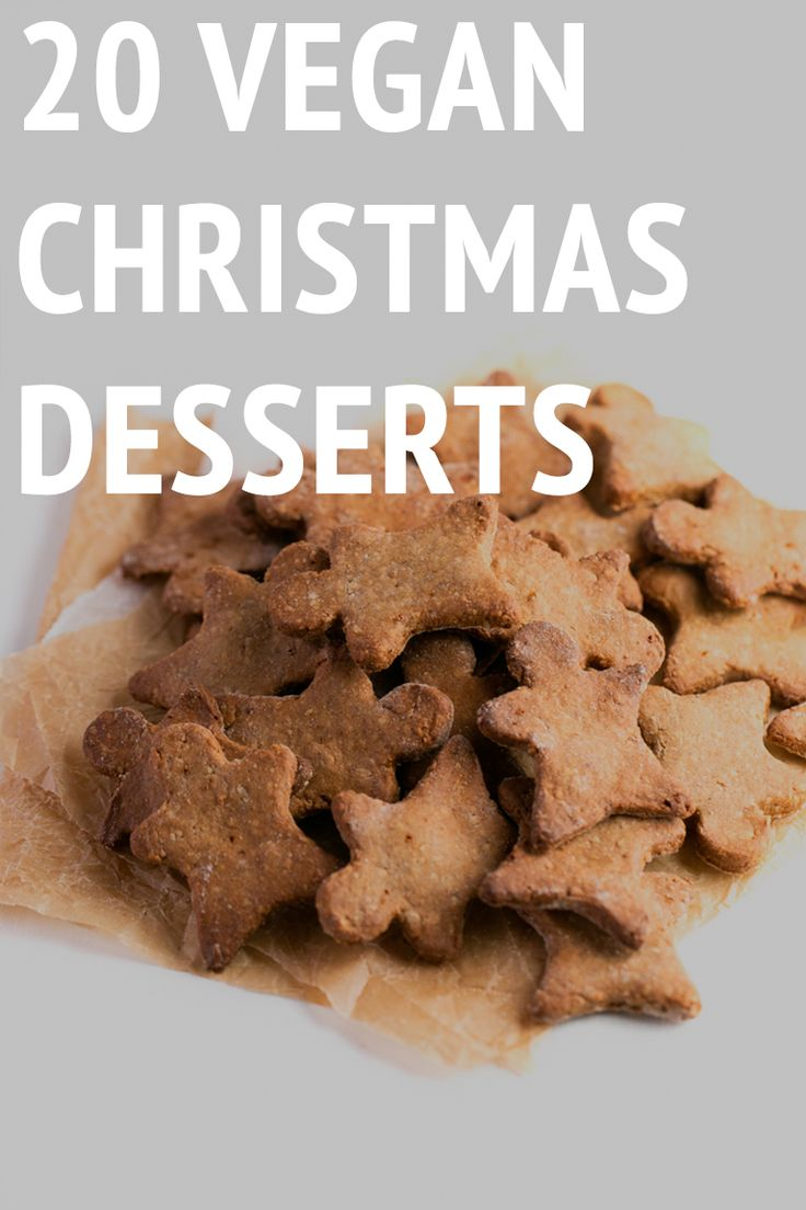 These 20 vegan Christmas desserts are delicious and also gluten-free. You'll find all kinds of recipes: cakes, cookies, puddings, Spanish desserts, etc.