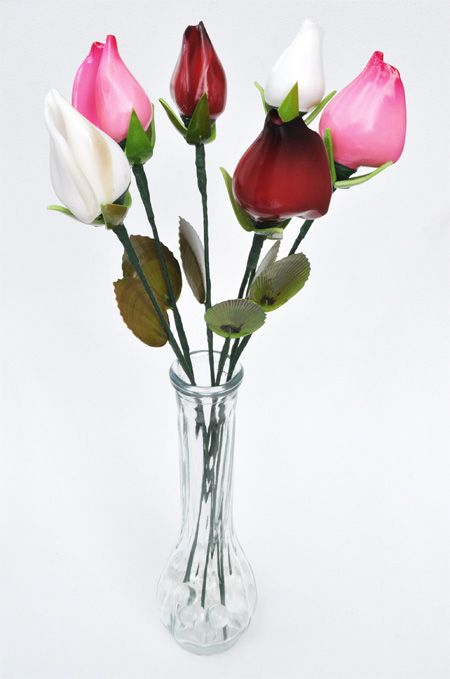 Sea Shell Flowers: rose buds