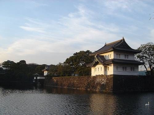 Tokyo Imperial Palace -- The main audience hall was the central part of the palace. It was  the largest building, in which guests were received for public events.