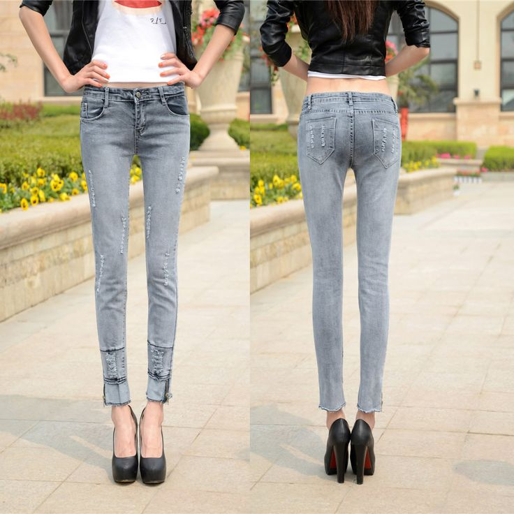 1000+ images about Clothes : Pants : Jeans on Pinterest   Grey ...
