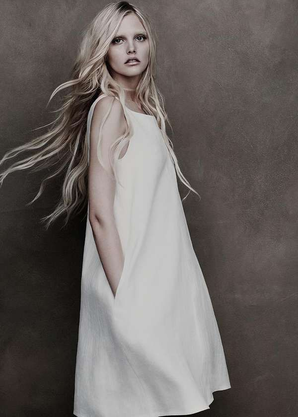 Ghostly Elegant Editorials  The Lida Baday SS 2012 Campaign is Faded and Gorgeous #SS2012 #fashion