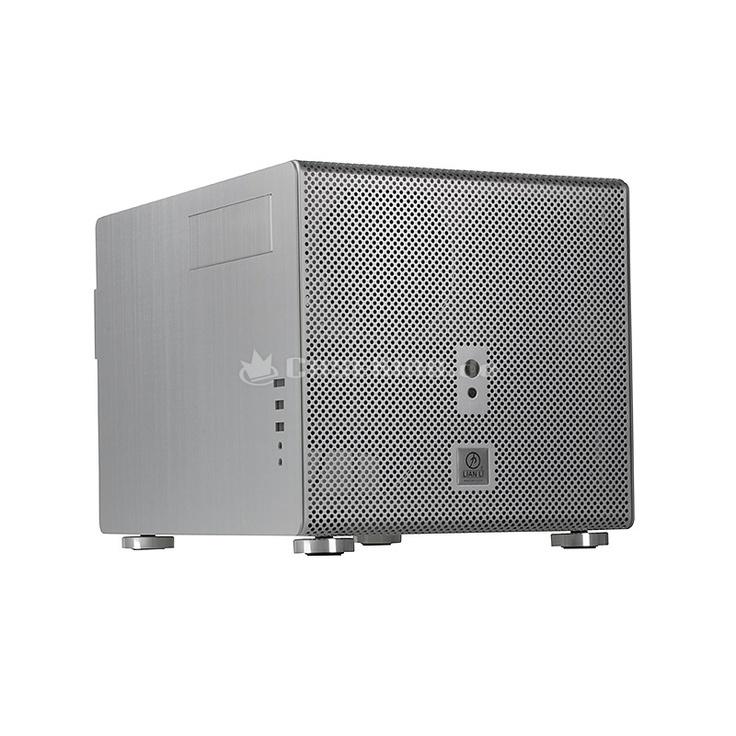Lian Li PC-V353A Micro-ATX Cube in silber. Lian Li ist inzwischen langjähriger Maßstab in Sachen Verarbeitungsqualität und überzeugt mit einer Kollektion von schlichter und zeitloser Eleganz. Dass darüber hinaus auch sehr innovative Detaillösungen zu den Lian Li Spezialitäten zählen, zeigt beispielsweise das PC-V353. Das PC-V353 verfügt verständlicherweise über die bekannten Vorteile der modernen Lian Li Gehäuse - eine hohe Verarbeitungsqualität, eine vollständige Fertigung aus leichtem…