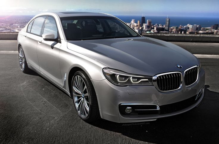 BMW 7 Series (G11-12) 2016 render