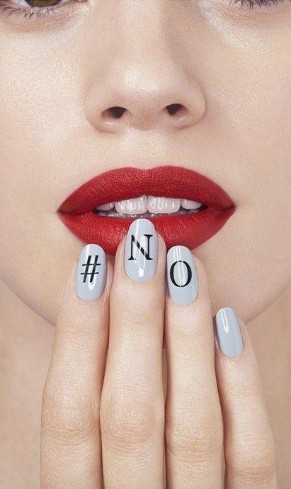 Nail art //Manbo