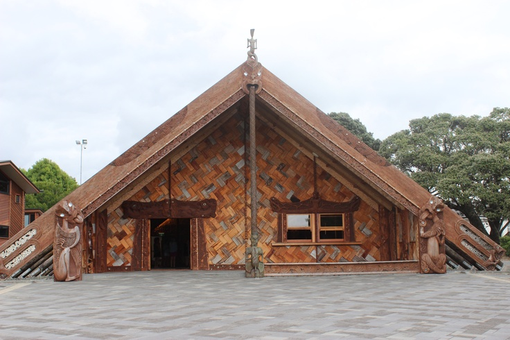 Unitec's Te Noho Kotahitanga Marae is unique in New Zealand. It is the first marae for almost a century that has been built incorporating more traditional architectural approaches; structurally it is held up by the carvings. Where possible, traditional techniques have been used to achieve the desired effects to align with modern building codes, would replace where necessary.