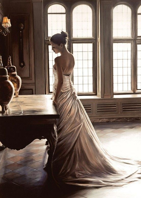 Emotions are the force that desires to make us Christlike or turn us into the adversary of God.   -H. Storm.: Style, Wedding Dresses, Beautiful, Art, Rob Hefferan, Photo, Robert Hefferan, Oil Painting