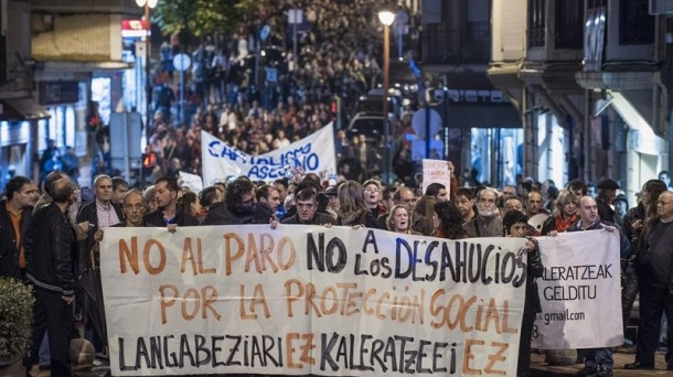 Los jueces de Bilbao suspenden temporalmente todos los desahucios