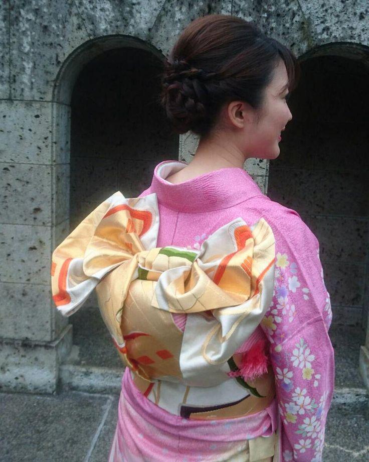 最後の振袖姿は、最高に美しく...♡着物を着るなら、ここから可愛い〔帯の結び方〕を選びましょう*   marry[マリー]