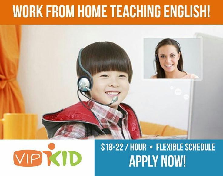 How to make money as a stay-at-home mom. Work from home teaching ESL to Chinese children with VIPKID! Easy online job for teachers or anyone with a Bachelor's degree with a passion for teaching kids. Apply here: http://teacher-recruitment.vipkid.com.cn/home.shtml?refereeId=1394334