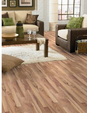 Mannington natural wisconsin walnut laminate flooring for Dupont real touch elite laminate flooring