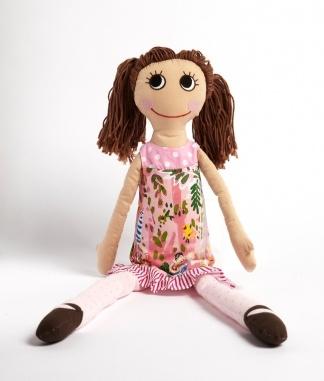 Ruby rag doll