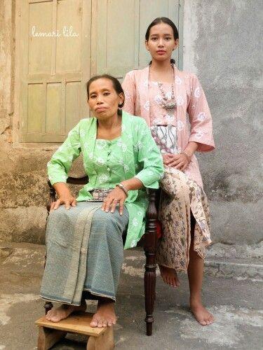Kebaya Jumputan and sarong