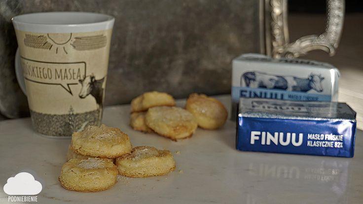 Pomysł na słodki przysmak - maślane ciasteczka na klasycznym maśle FINUU. Serwuje @PodNiebienie #finuu #finuupl #ciasteczka #przepis #cookies #buttercookies #ciastka #przepisy #pomyslna #inspiracje #kulinarneinspiracje